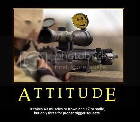 Motivational Poster &amp;quot;Attitude&amp;quot; Pictures, Images and Photos