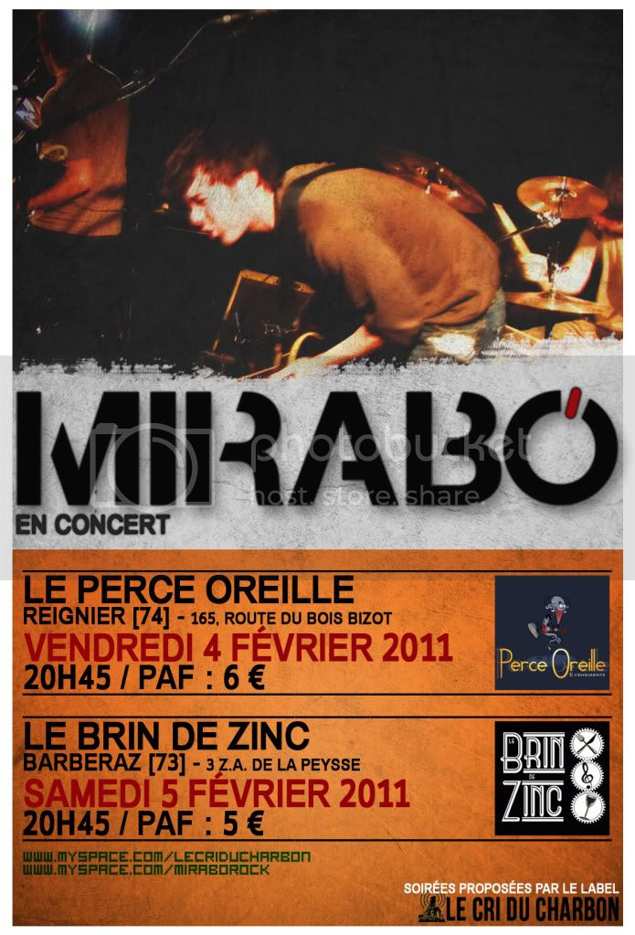 MIRABO en CONCERT PERCE OREILLE BRIN DE ZINC